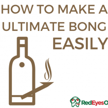 How to make a bong or waterpipe