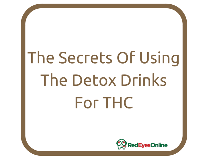 how to detox your body from THC