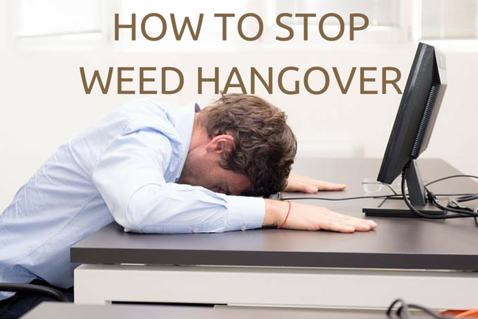 weed hangover and cures