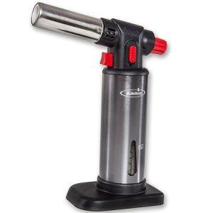 Professional Chef Food Blow Torch - Butane Gas Gauge
