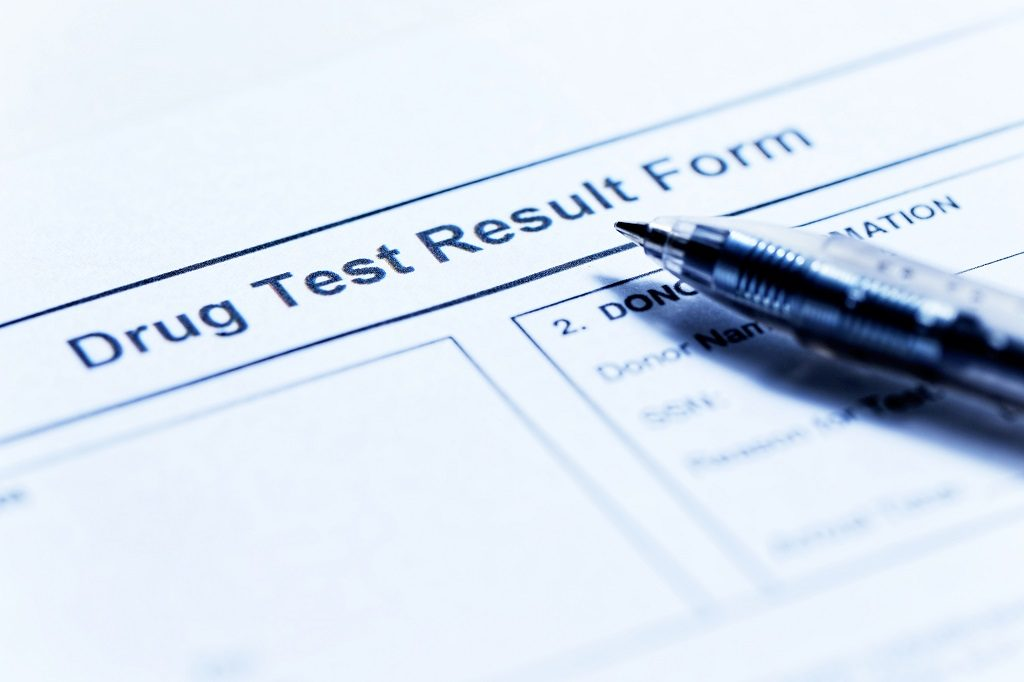 Marijuana drug test