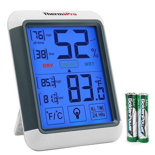 ThermoPro TP55 Indoor Thermometer and Humidity Monitor