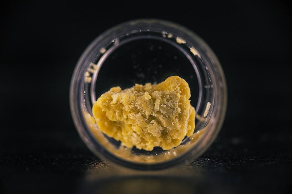 cannabis wax for making bubble hush