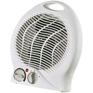 Portable 2-Speed Fan Heater with Thermostat