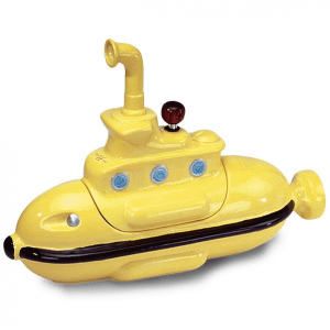 Yellow Submarine Ceramic Bong