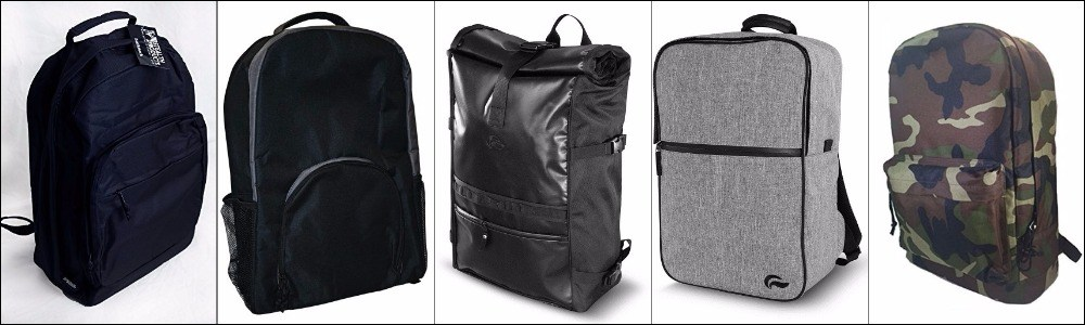 Smell proof backpacks