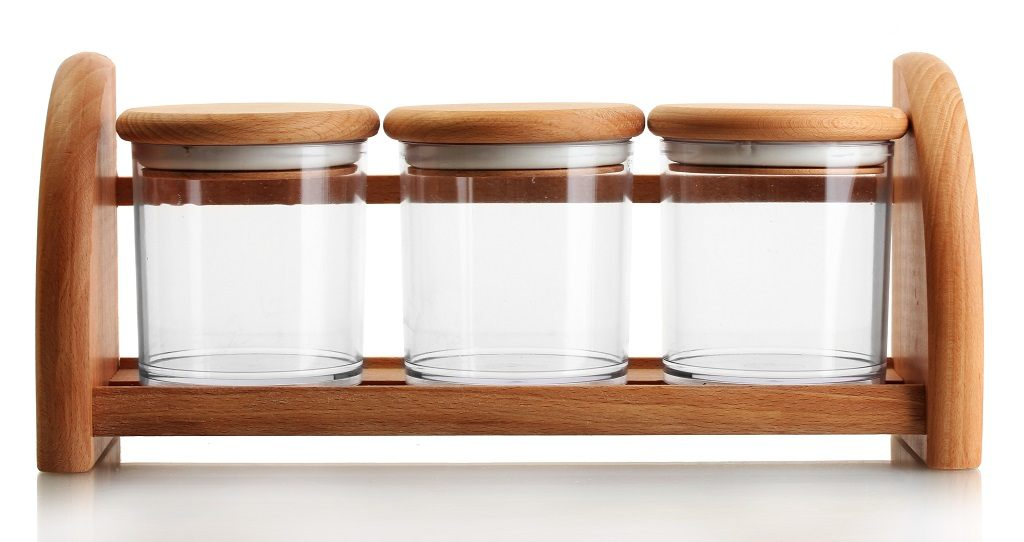 Marijuana glass jars