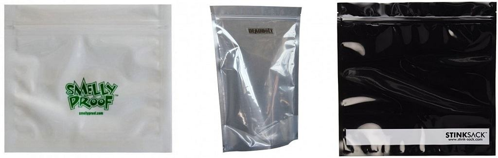 Weed smell proof baggies