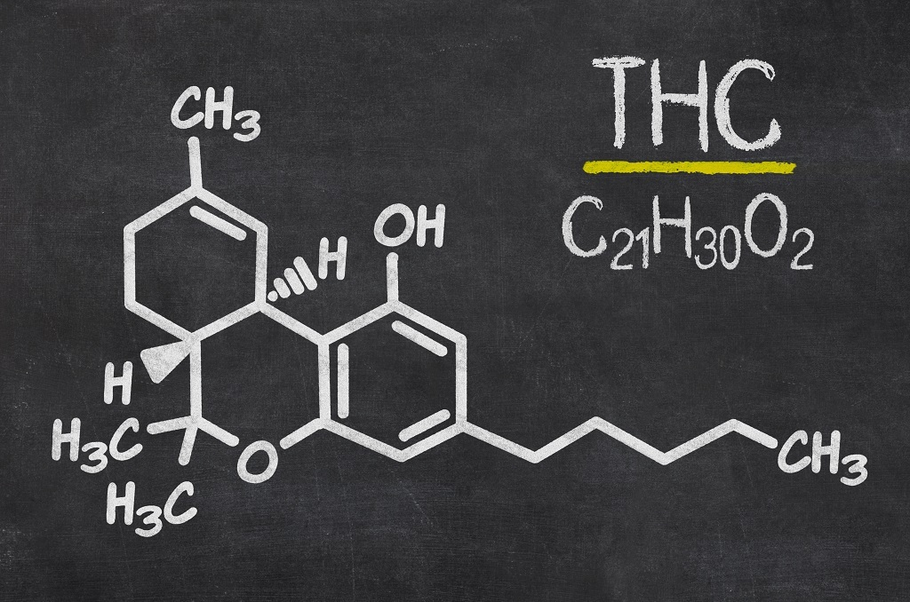THC Chemical Structure