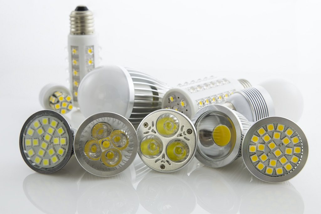 LED grow lights used in growing and industrial level