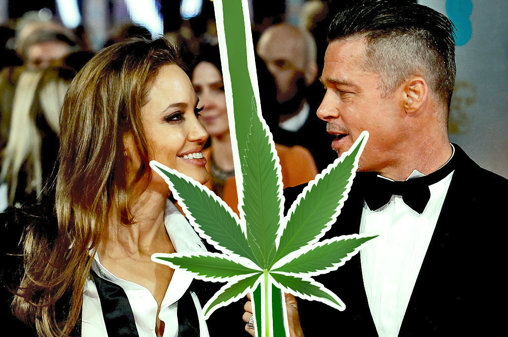 Brad Pitt - Did Weed Cause Actor's Divorce?