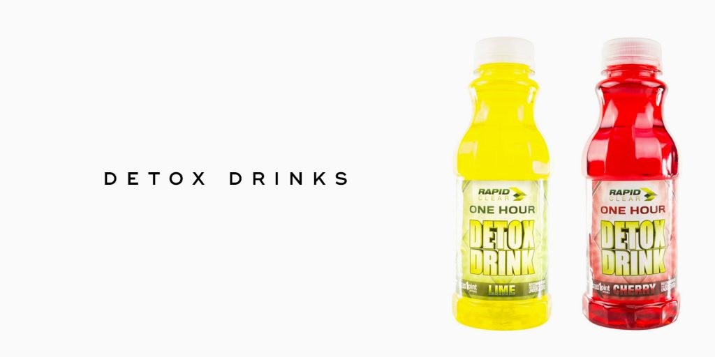 Detox drinks and products